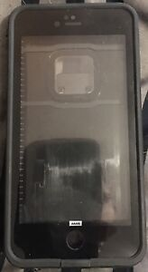 REDUCED!! Lifeproof case and belt clip for iPhone 6S Plus