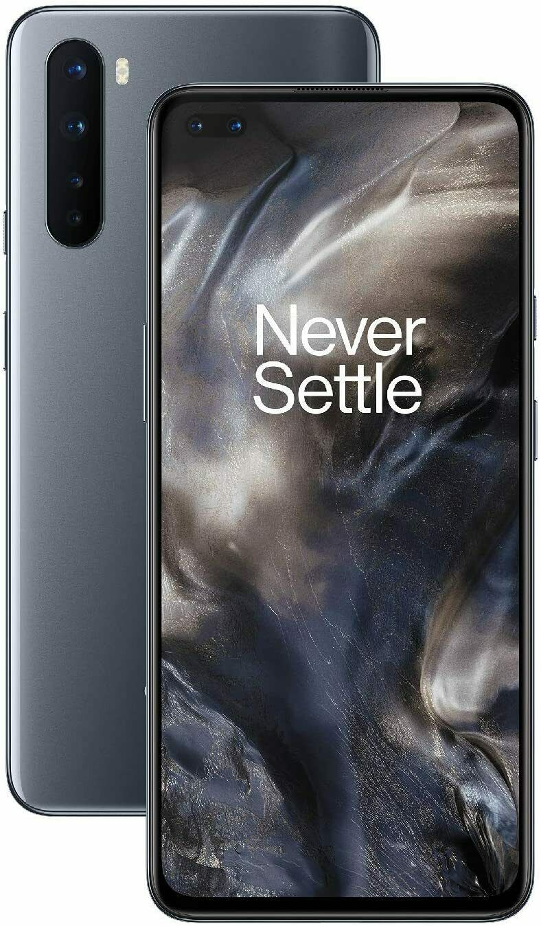 Android Phone - Brand New OnePlus Nord 6.44 Inches 256GB 12GB RAM  (FACTORY UNLOCKED)  Gray Onyx