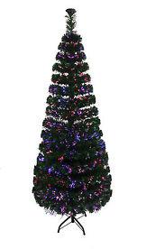 Green Fibre Optic LED Christmas Tree