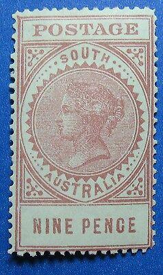 1906 SOUTH AUSTRALIA 9d SCOTT# 154 S.G.# 302 UNUSED                    CS16618