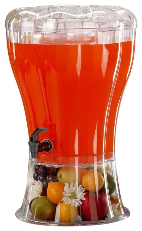 Buddeez Unbreakable 3-1/2-Gallon Beverage Dispenser with Rem