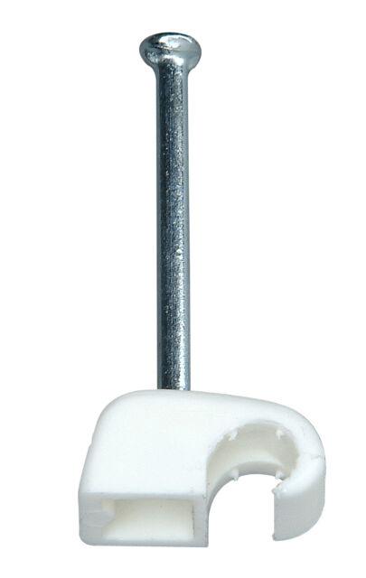 Kopp Iso Schellen Klemmschellen 4 bis 7 mm weiß Gebinde 50 Stück Neuware