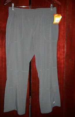 CHAMPION Women's Size Small Athletic Casual Cropped Pants EURO GREY Capris Cropped Athletic Hosen
