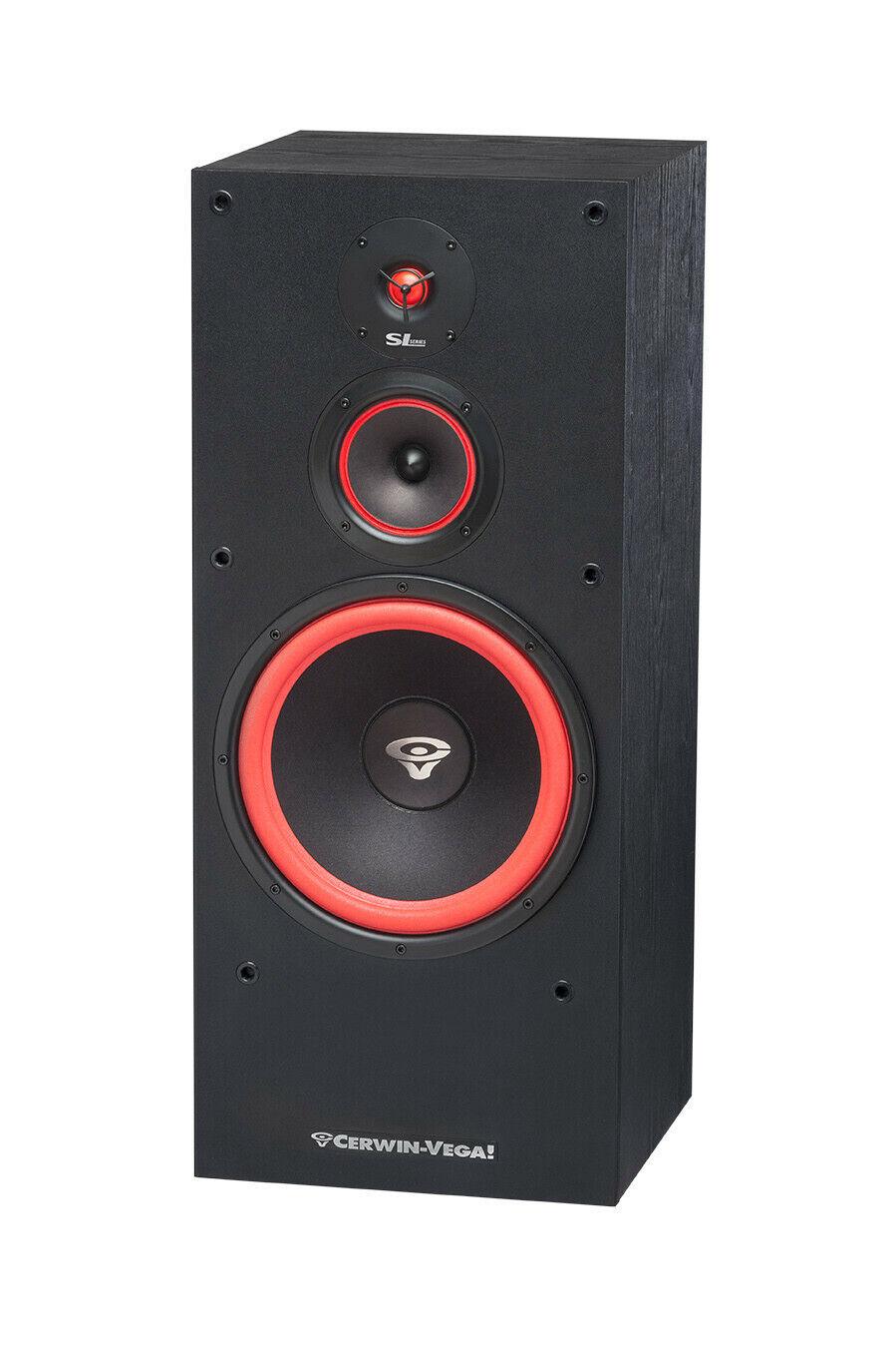 """NEW Cerwin Vega SL12 12"""" Inch 3-way Floor Standing Speaker"""
