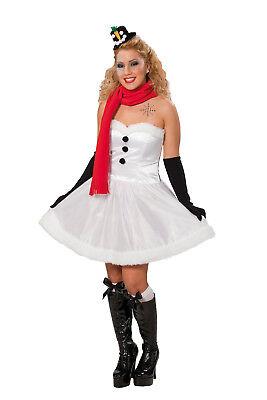 Damen Kostüm Schneefrau Schneemann - Schneemann Kostüm Damen