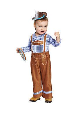 Karneval Kinder Kostüm Peter Overall Oktoberfest verkleiden