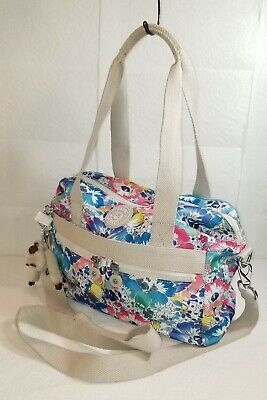 KIPLING Tote Shoulder Crossbody Bag  Floral Design