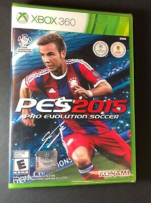 Pro Evolution Soccer 2015 [ PES 2015 ]  (XBOX 360) NEW for sale  Shipping to Nigeria