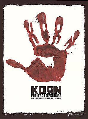 MINT EMEK 2008 Korn Columbiahalle Berlin Poster 142/200
