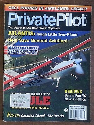 11129 Private Pilot - vol. 32 n. 8 1997 - Maule Flight Test - SGS1 - in inglese - Wissenschaft 1 Tests