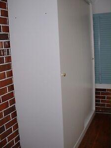White wardrobe with 2 sliding doors Ashfield Ashfield Area Preview