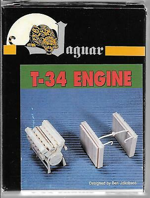 Jaguar Resin T-34 Motor Zusatz / Aufrüstung Details Im 1/35 gebraucht kaufen  Versand nach Germany