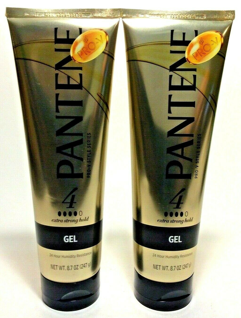 Pantene Pro-V 4 Extra Strong Hold Gel 8.7 oz 24 Hour Humidit