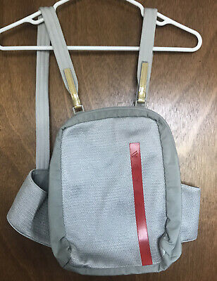 Vintage 90s Prada Backpack Bag Purse Waist Belt Strap Tech Sport