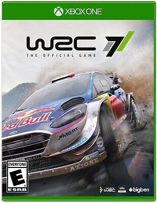New! WRC 7: The Authorized Game Microsoft Xbox One Free Shipping Racing Cars