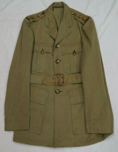 WW2 Canadian Officers Captain Tropical Four Pocket Jacket