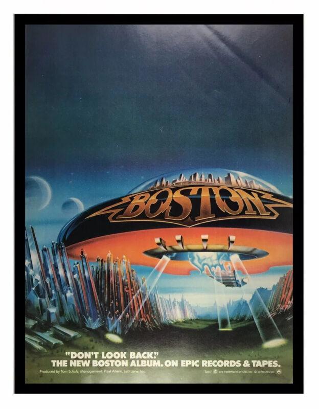 Rare 1978 Vintage 8X11 Album Promo Print Ad for Boston Don