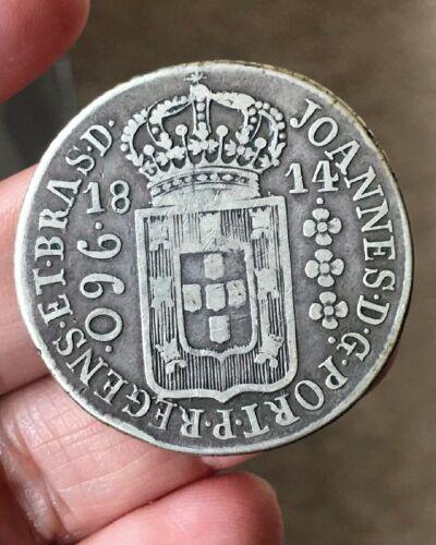 Brazil 1814 B  960 Reis  KM 307.3