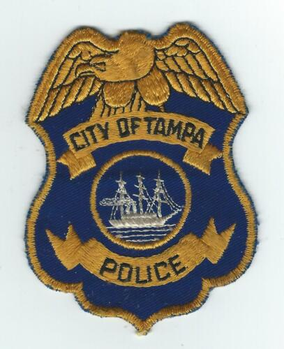 VINTAGE TAMPA, FLORIDA POLICE (CHEESE CLOTH BACK) patch
