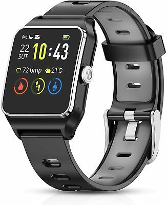 HolyHigh Smart Watches GPS Sports Watch 17 Sports Modes Waterproof Activity