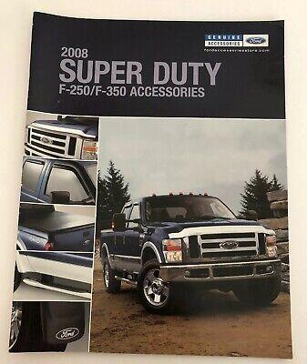 2008 Ford Truck F-250/F-350 /Accessories Brochure Catalog