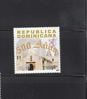Dominican Republic 2008 Salvaleon Town Sc 1441  mint never hinged