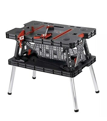 Keter 17182239 Collapsible Folding Work Table