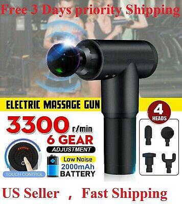 Massage Gun Percussion Massager Muscle Vibrating Relaxing Like Hypervolt US SHIP
