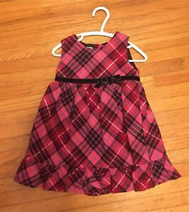 Girls' holiday dress 2T