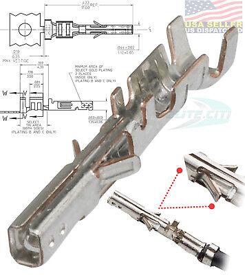 (10PCS -  Molex 43030-0001 Female Micro-Fit  Crimp Terminals Pins For 20-24 AWG)
