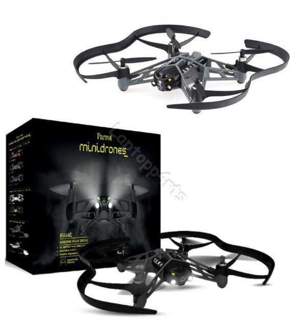 Parrot MiniDrones Airborne Swat Night Drone Flying WiFi Robot Toy Smartphones