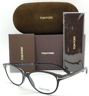NEW Tom Ford RX Prescription Glasses Black FT5421 001 53mm AUTHENTIC TF 5421 (Tom Ford Cat Eye Prescription Glasses)