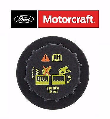 Excursion Tank - OEM Motorcraft For Ford Lincoln Mercury Radiator Coolant Recovery Tank Cap RS527