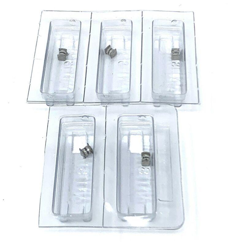 LOT OF 5 1N6139US Diode TVS Single Bi-Dir 5.7V 1.5KW 2-Pin NEW OLD STOCK UNUSED