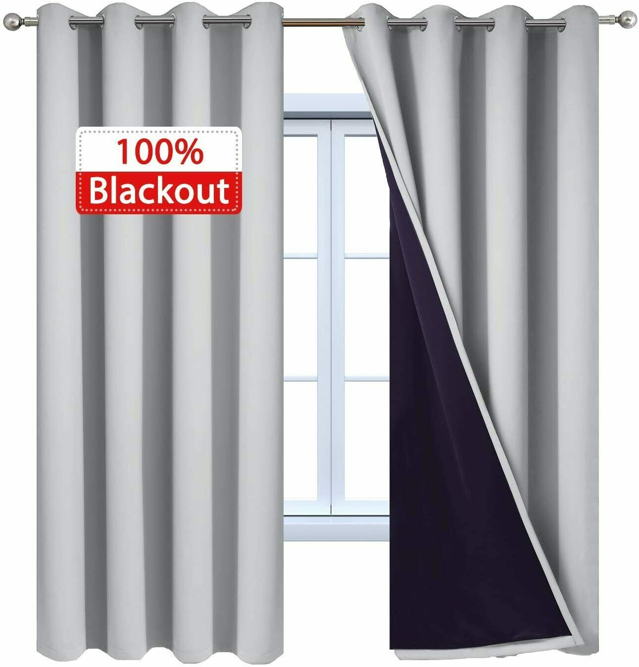 blackout window curtain panels heat full light