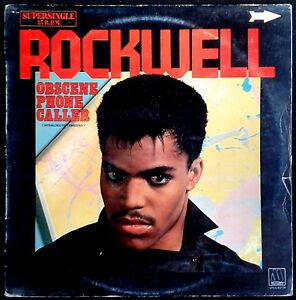 ROCKWELL-Obscene-Phone-Caller-Spain-Motown-1984-Maxi-Single-Maxisingle