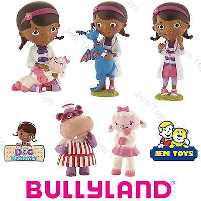 Disney Doc McStuffins Figuren Spielzeug Kuchen Topper Bullyland verstopfte ()