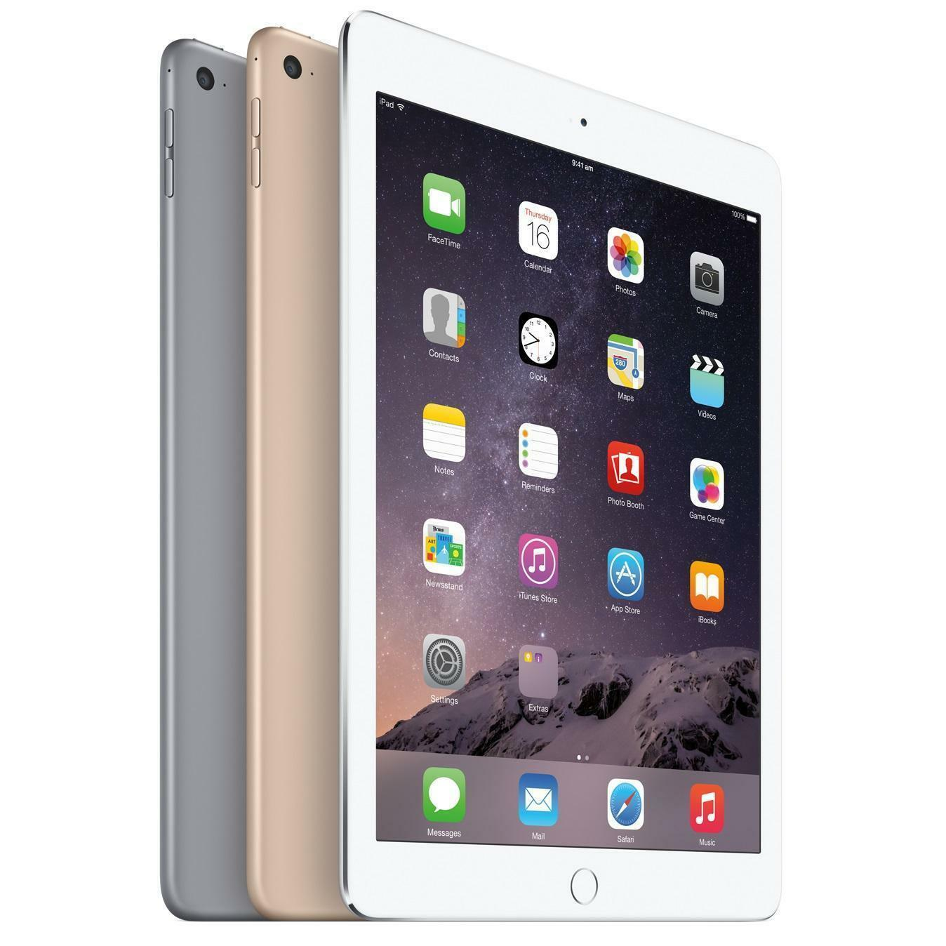 Apple iPad AIR 2 - 9.7 Inch Tablet VARIOUS - Wi-Fi  - 16 /  32GB / GRADED