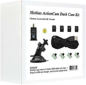 Mobius-ActionCam-Dash-Cam-Mounting-Kit-For-Car-DVR
