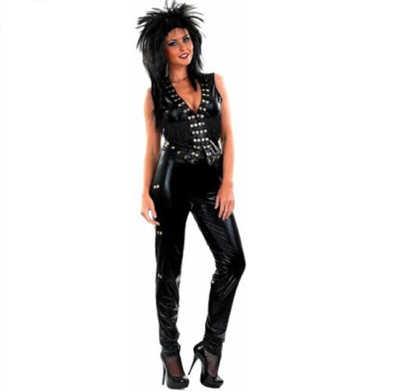 Rock Chick Fancy Dress Ebay