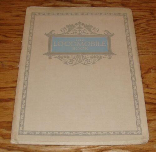 Original 1914 Locomobile Book Full Line Deluxe Sales Brochure 14