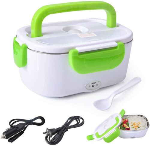 110V Electric Heating Lunch Box Portable Warmer Food Heater