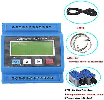 Module Ultrasonic Liquid Flow Meter Digital Water Flowmeter Dn50 To 700mm