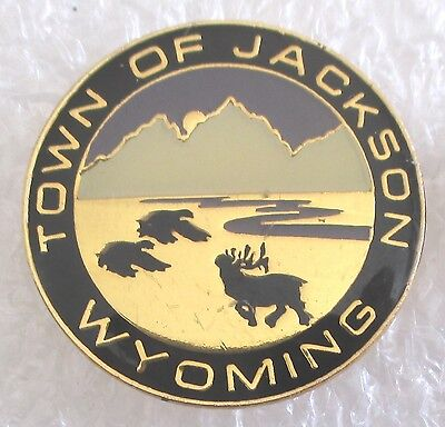 Town of Jackson, Wyoming Travel Souvenir Collector Pin