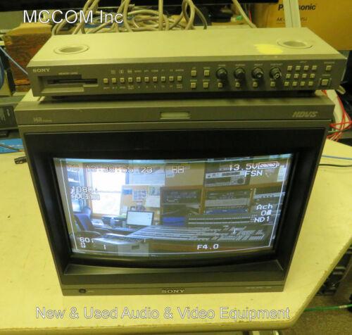 "Sony HDM-20E1U 20"" CRT Monitor w/ 42HD HD-SDI Module, pick up only"