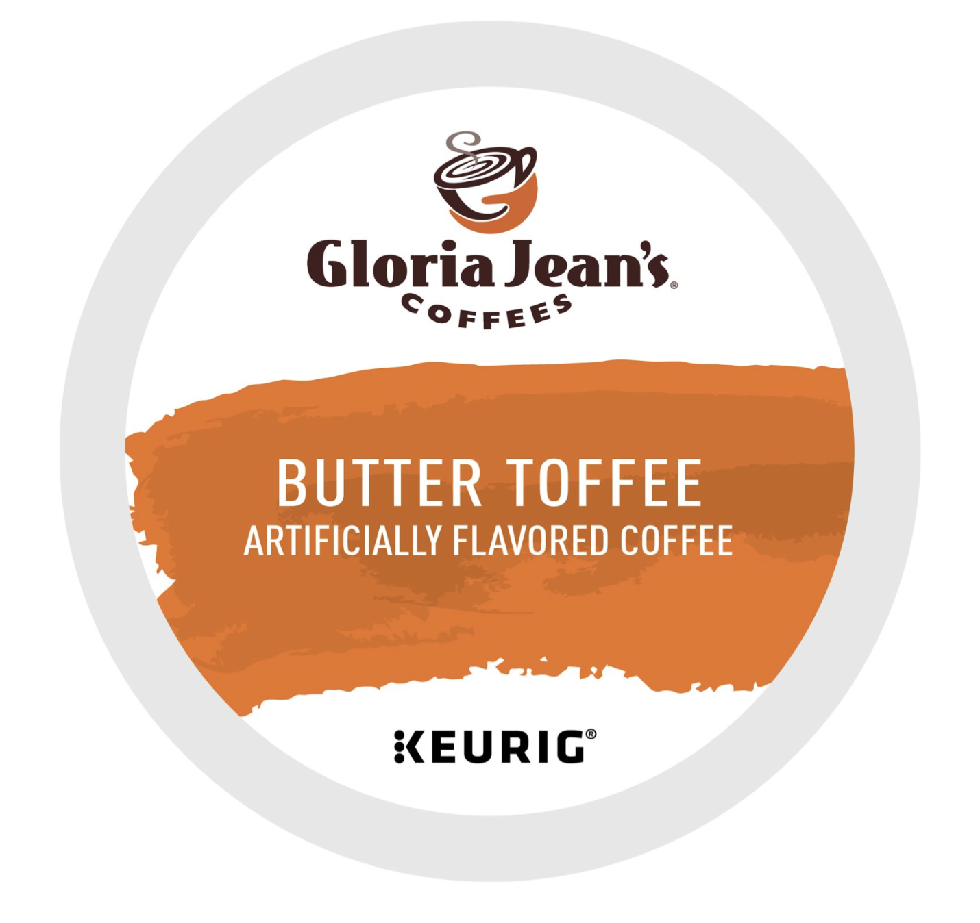 288 K-cups GLORIA JEAN'S BUTTER TOFFEE COFFEE  Fast and