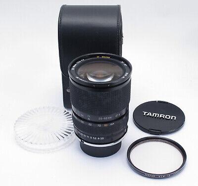 Tamron Nikon Adaptall 2 Mount 28-80mm 3.5-4.2 Zoom SP Manual Focus Lens - NICE!