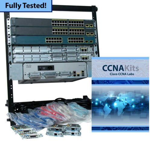 Cisco CCNA NetaCad Advanced Lab 200-301 v7