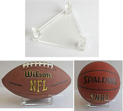 Deluxe Acrylic Basketball Soccer Football Display Stand, DS02