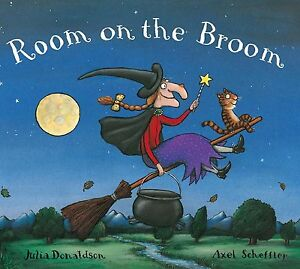 Room-on-the-Broom-by-Julia-Donaldson-Axel-Scheffler-Good-Condition-Freepost